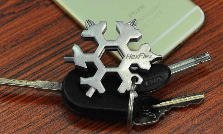 Hexflex Snowflake Multi Tool And Bottle Opener