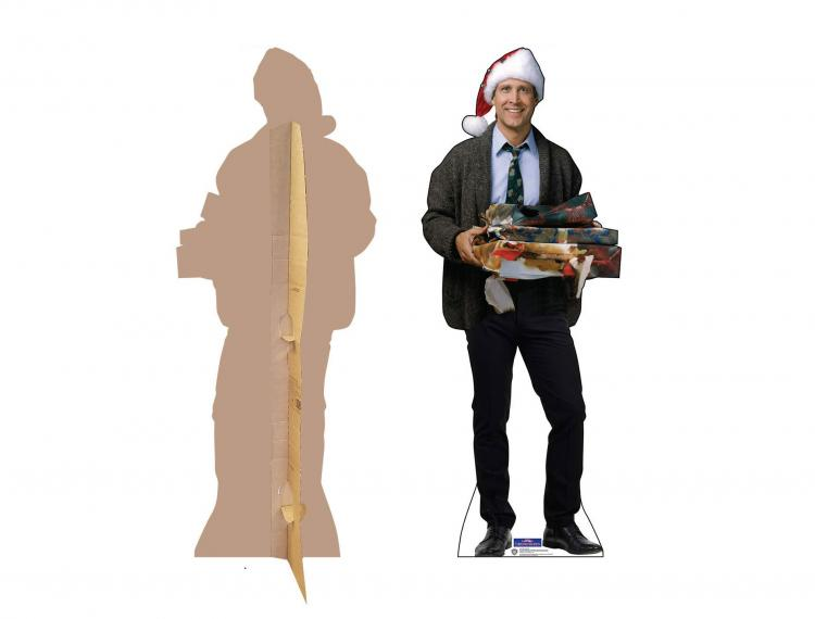 Christmas Character Life-size Cardboard Cutouts - Clark Griswold Chrismtas Vacation Cardboard Cut Out