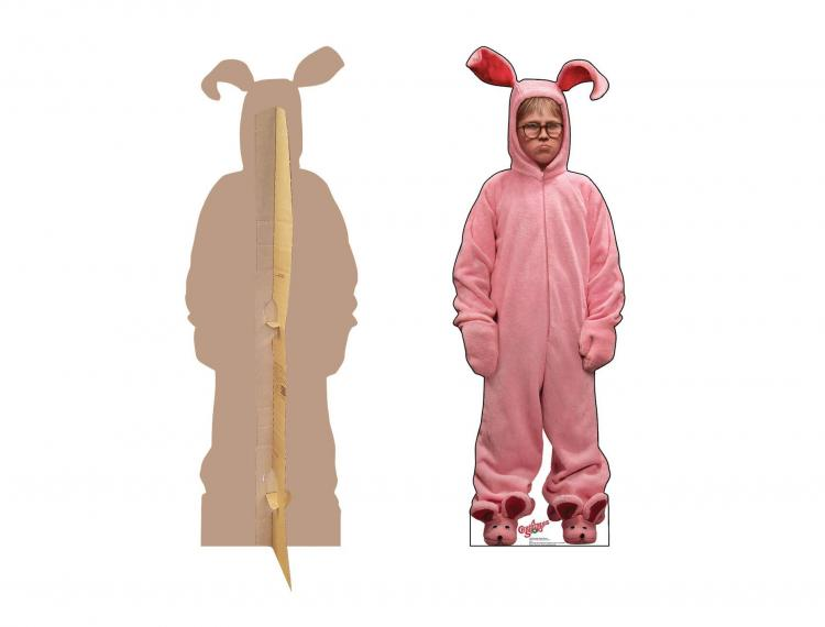 Christmas Character Life-size Cardboard Cutouts - Ralphie Christmas Cardboard Cut Out