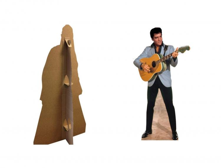 Christmas Character Life-size Cardboard Cutouts - Elvis Christmas Cardboard Cut Out