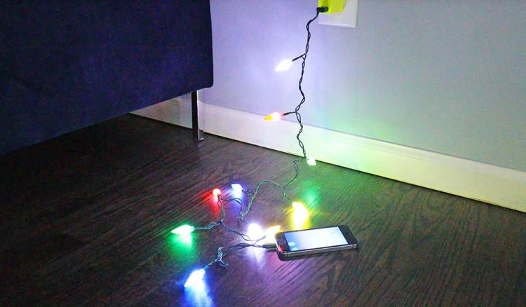 Mini Christmas Lights Phone Charging Cable - Christmas Lights Charging Cable