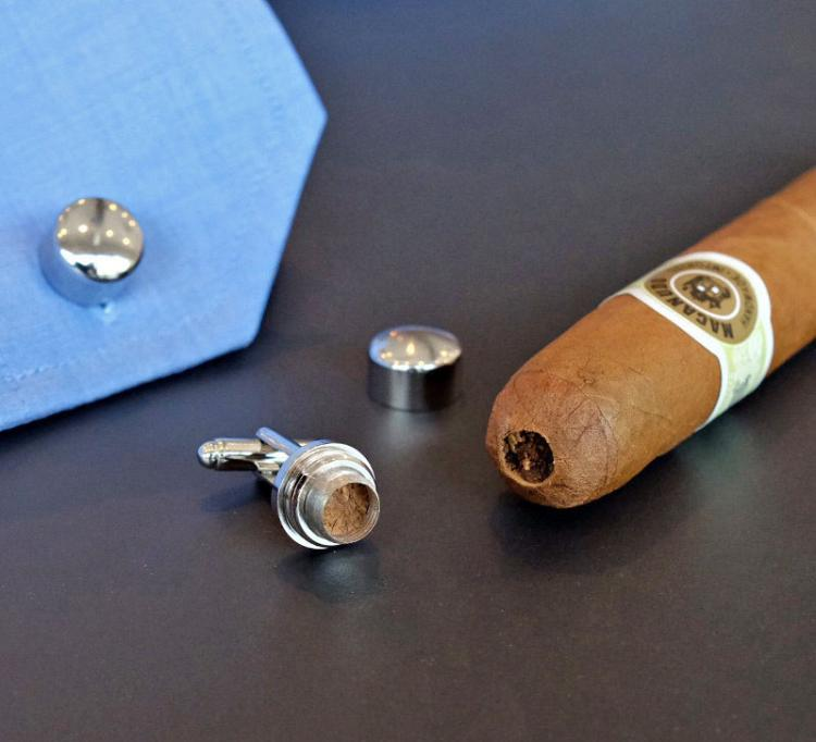 Cigar Cutter Cufflinks