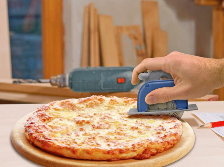 Circular Saw Pizza Cutter