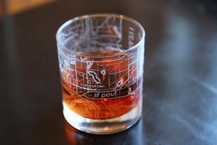 City Maps Etched Onto Drinking Glasses