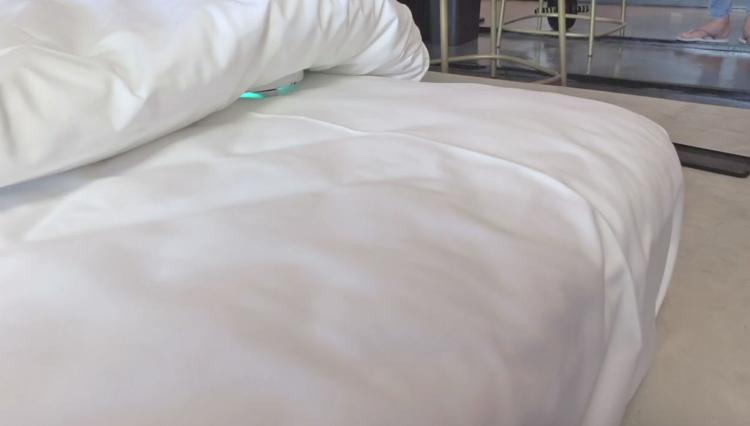 Cleansebot Bed Cleaning Robot - Dust-mite and bacteria killing bed roomba