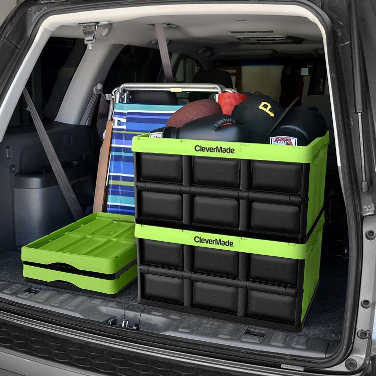CleverCrates: Collapsible Storage Bins That Fold Flat For Easy Storage