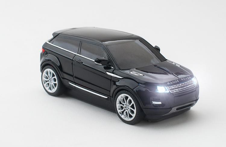 Click Car: Wireless Car Shaped Computer Mouse - Range Rover Evoque Computer Mouse