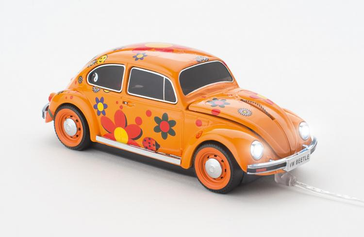 Click Car: Wireless Car Shaped Computer Mouse - VW Beetle Computer Mouse