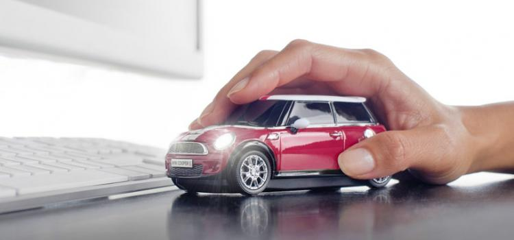 Click Car: Wireless Car Shaped Computer Mouse - Mini Cooper S Computer Mouse