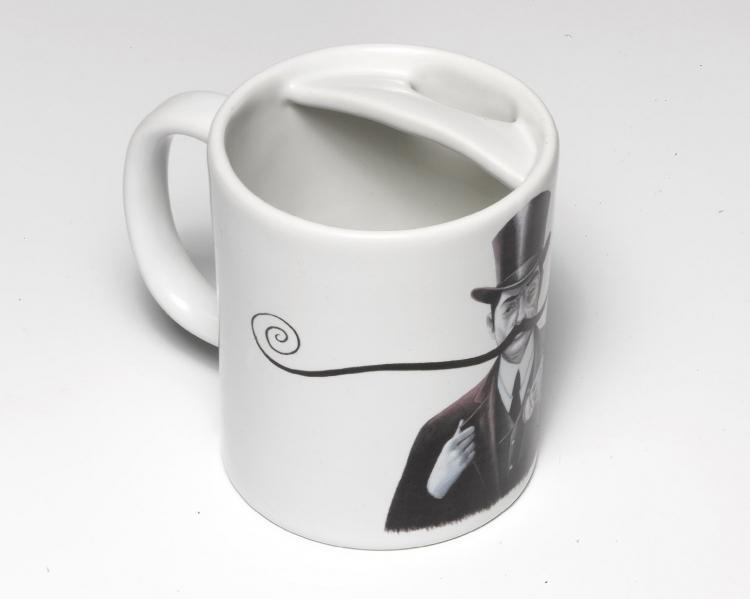 Mustaches Mug Coffee Mug With Mustache Guard