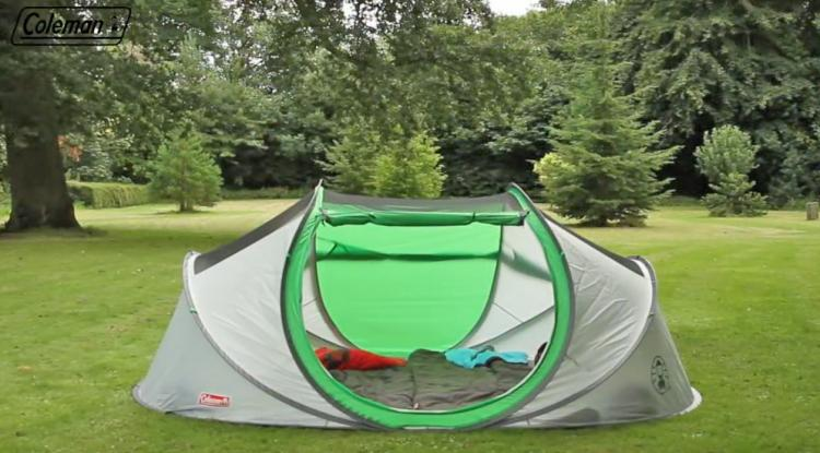 Coleman Has Made A 4 Person Pop Up Tent That Sets Up Instantly