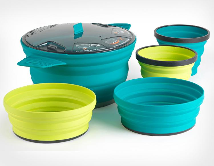 X-Pot Collapsible Pot and Bowls