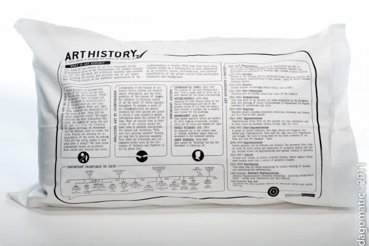 Study Guide Pillow Cases - Art History