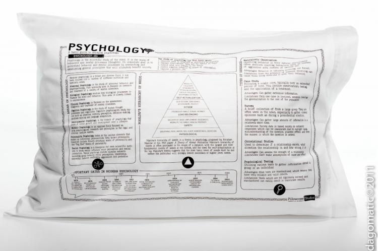 Study Guide Pillow Cases - Psychology