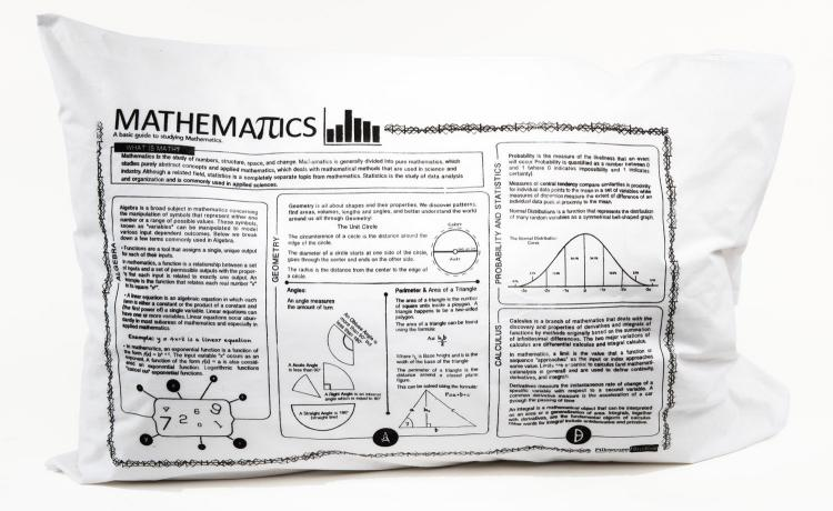Study Guide Pillow Cases - Mathematics