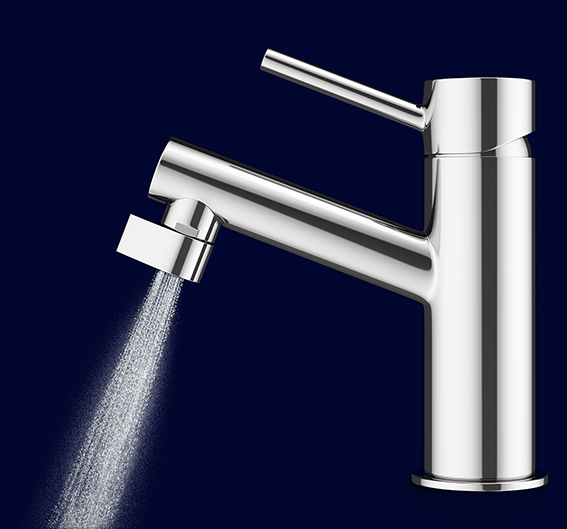 Altered nozzle conserves of the water you use through it