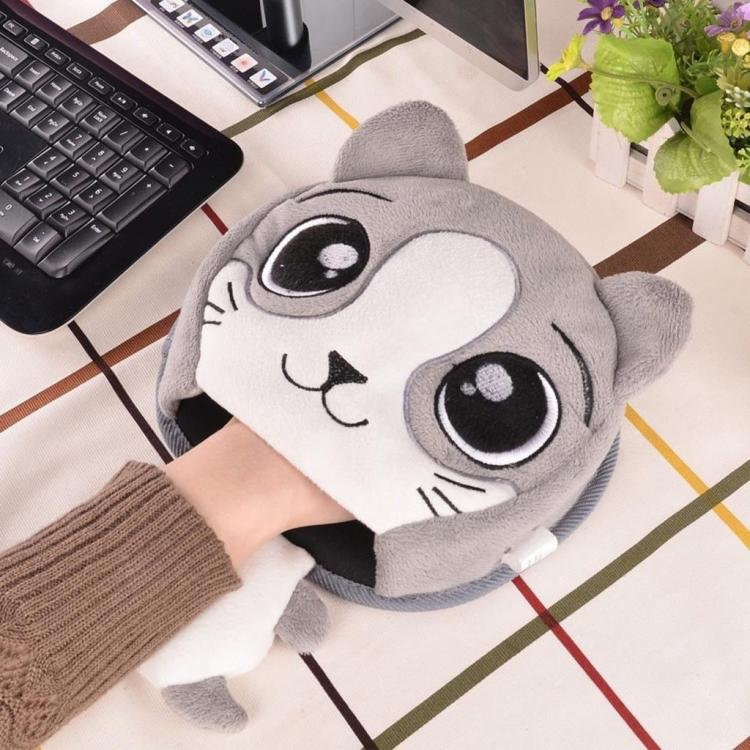 Coolest Japanese Gadgets - Plush USB Powered Mouse Pad Hand Warmer For Cold Offices