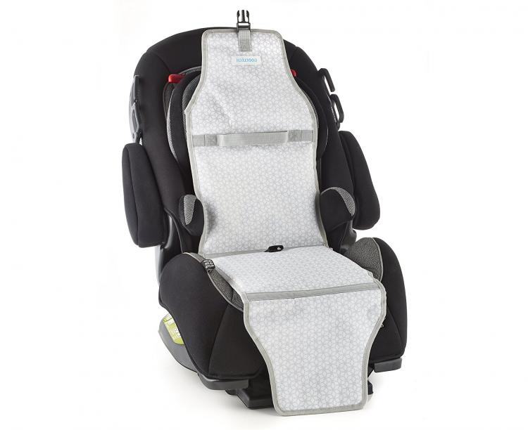CoolTech Car Seat Cooler - Keeps Car Seat Cool on Hot Summer Days - Prevents Car Seat Burns