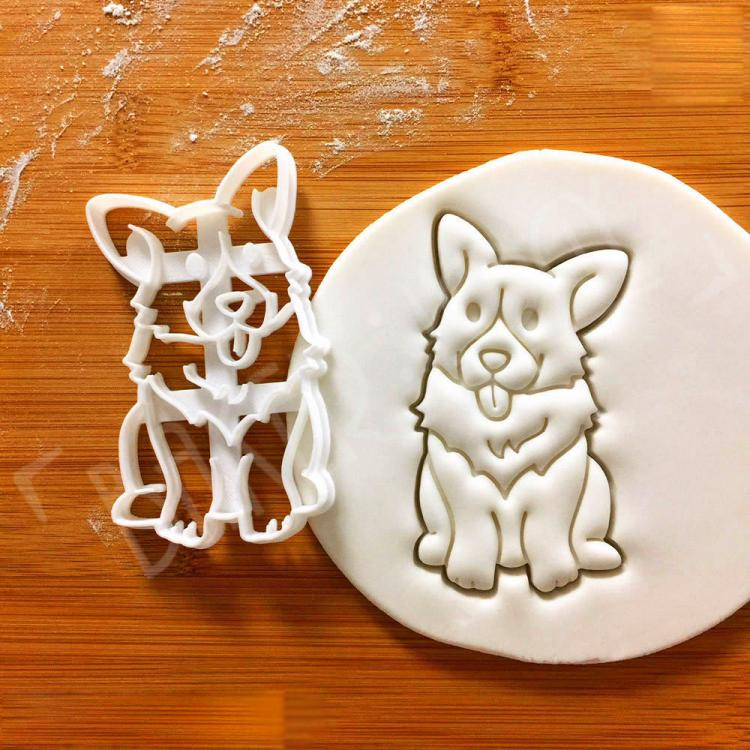 Corgi Cookie Cutters - Corgi Shaped Cookies