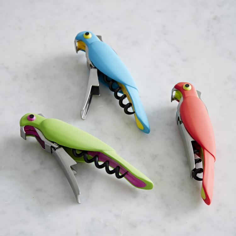 Corkatoo Cockatoo Bird Shaped Corkscrew and Bottle Opener