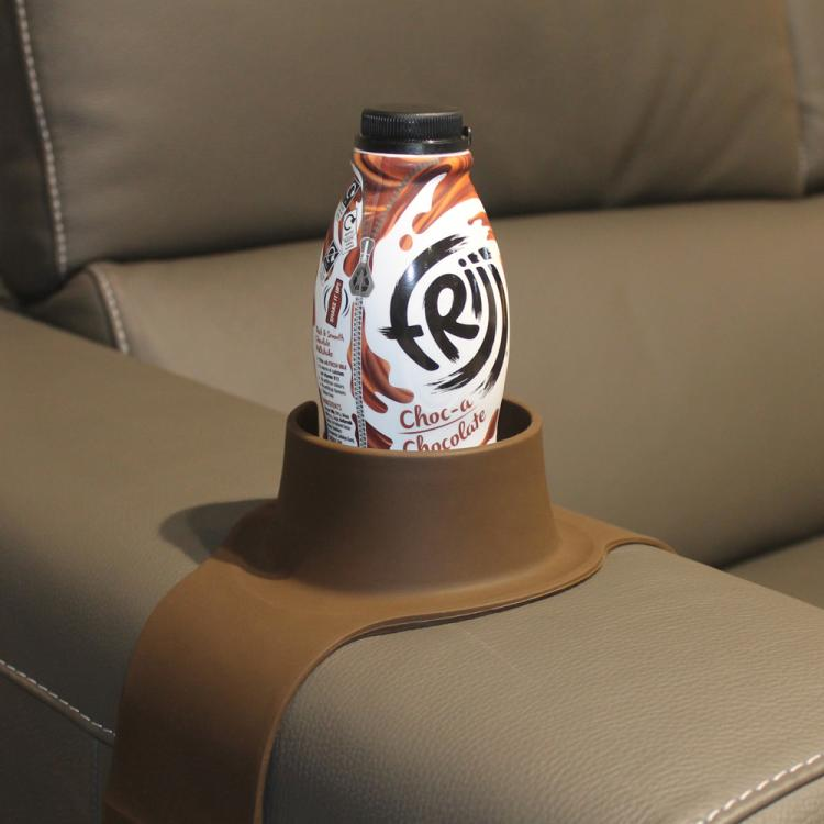 Couch Coaster - Weighted Drink Holder For Couch or Chair Armrest - Rest Drinks On armrest of couch