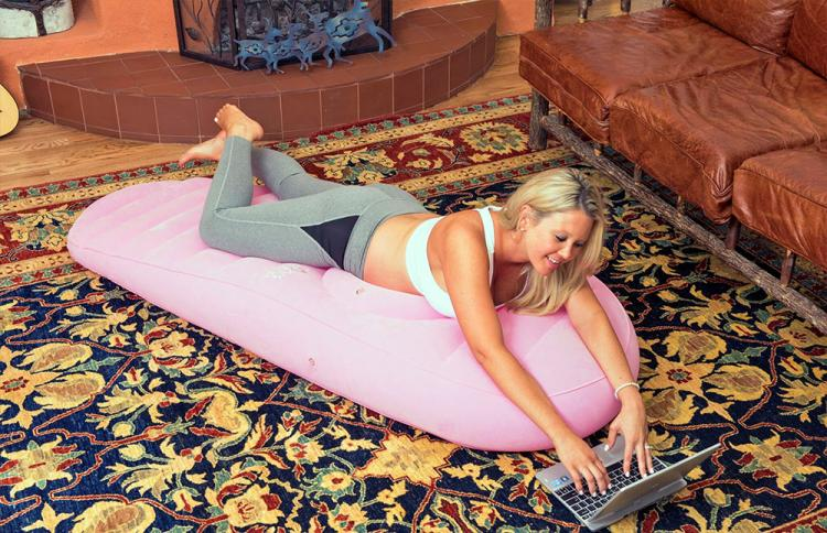 Cozy Bump Pregnancy Pillow Allows Pregnant Women To Lay On