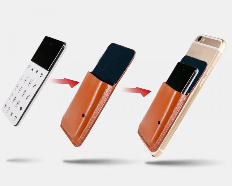 Credit Card Sized Phone Fits In Your Wallet - Emergency wallet phone
