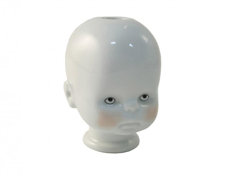Little Joseph - Creepy Doll Head Candle Holder