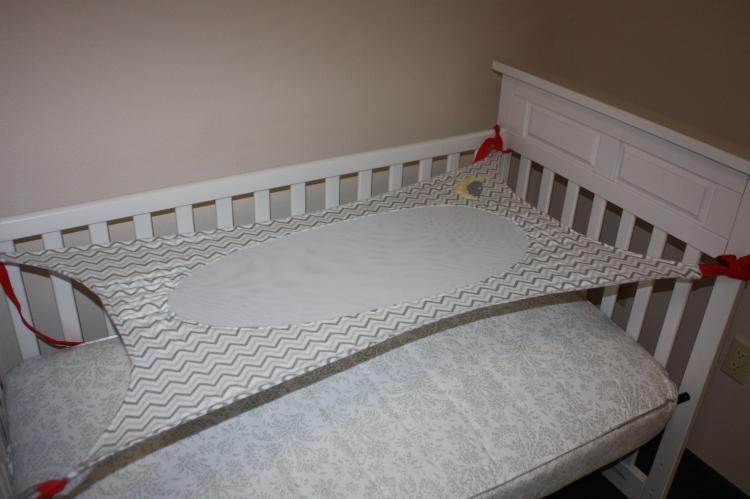 Crescent Womb Newborn Crib Hammock - Newborn safety bed - reduces risk of sids