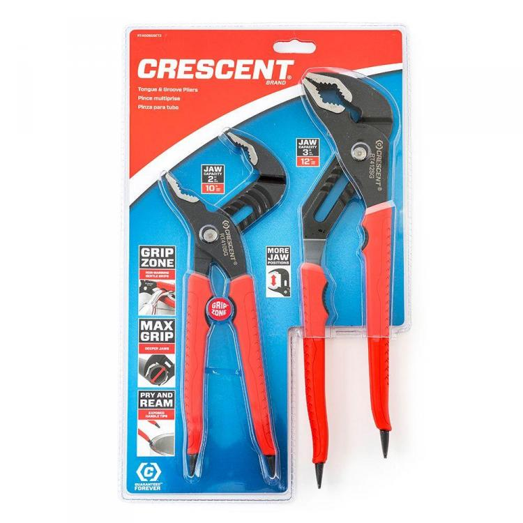 Crescent Wrench Pliers With Pipe Grips On The Handles
