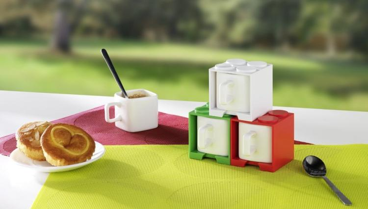 Cube Shaped Square Lego Coffee Mug - Cube Mug