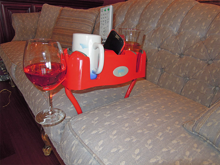 Cupsy - Couch Drink Holder and Organizer