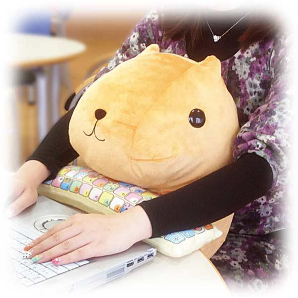 Japanese Creature Cushions Protect Your Wrists While You Type