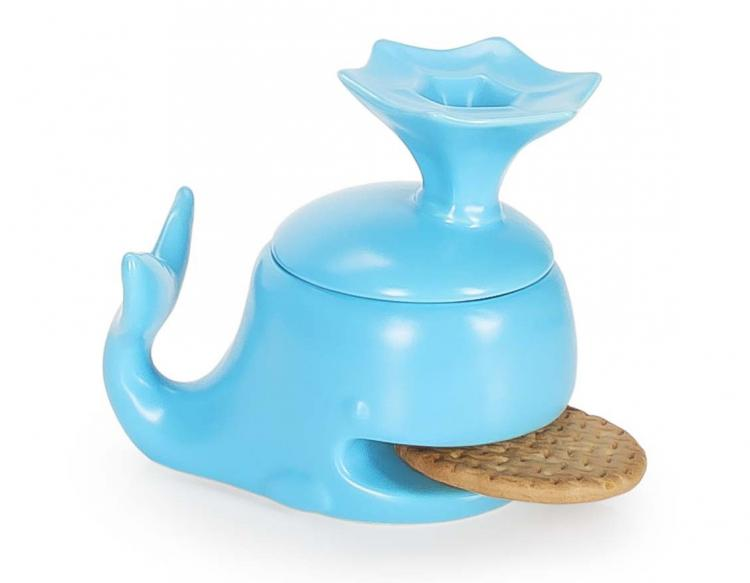 Whale Mug Holds Your Cookie or Biscuit In It's Mouth