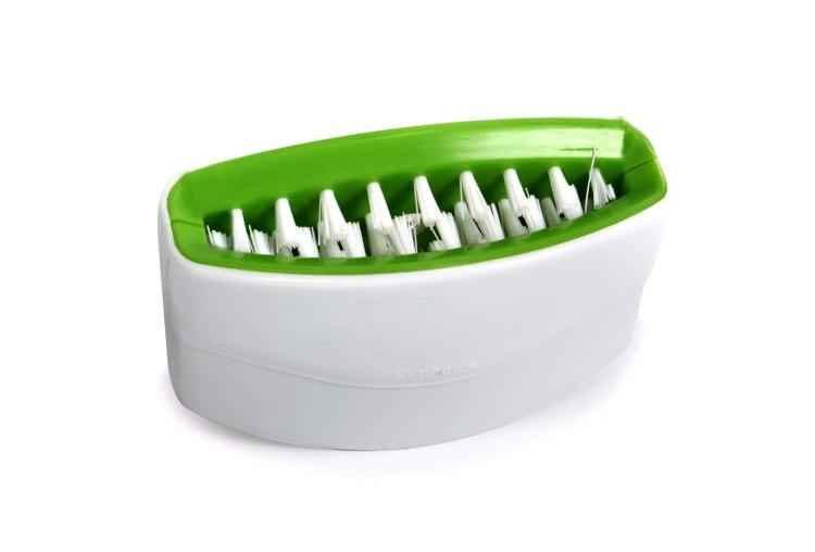 Cutlery Cleaner - Silverware Scrubber - Attaches To Sink