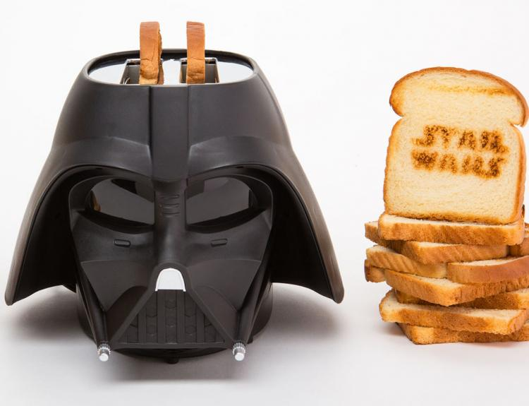 Star Wars Darth Vader Toaster - Vader Helmet Toaster