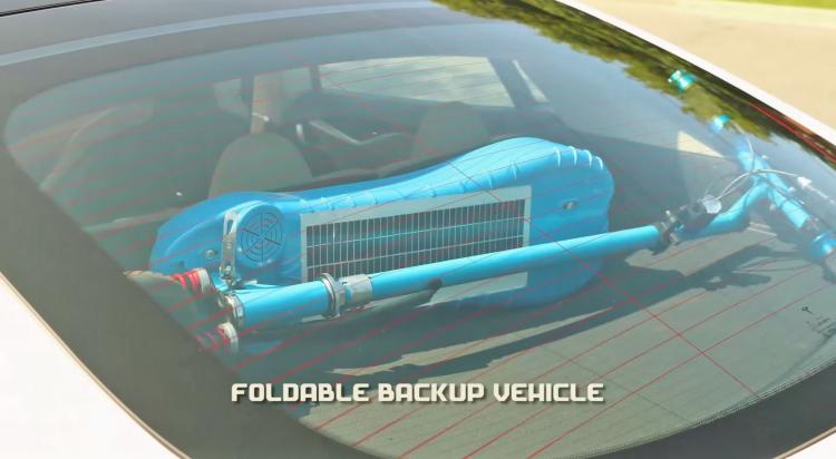 Daymak Photon Solar Powered Electric Scooter