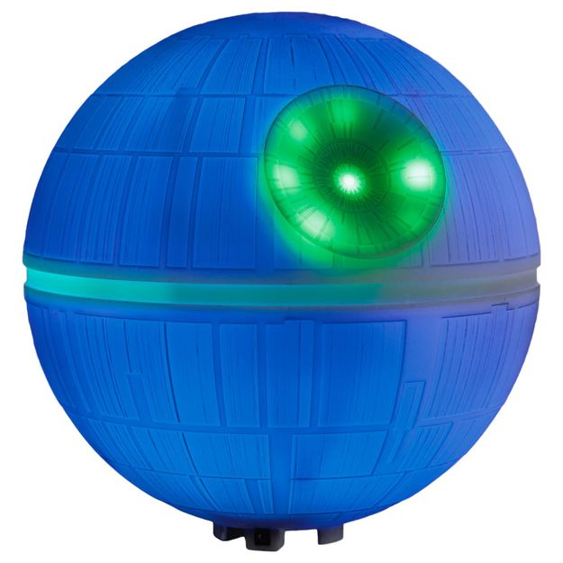 Star Wars Death Star Christmas Tree Topper - Light Show Music Playing Death Star Tree Topper
