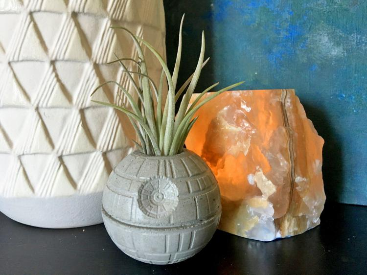Star Wars Death Star Planter - Death Star Air Plant Pot