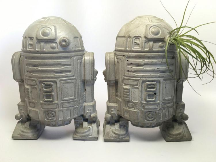 Star Wars R2-D2 Planter - R2-D2 Air Plant Pot