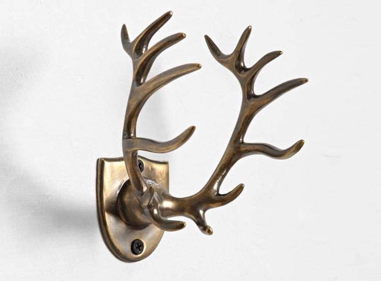 Deer Antlers Toothbrush Holder