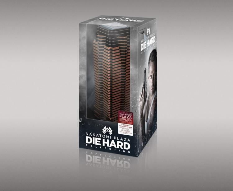 Die Hard Blu-ray Collection - Replica of The Nakatomi Plaza