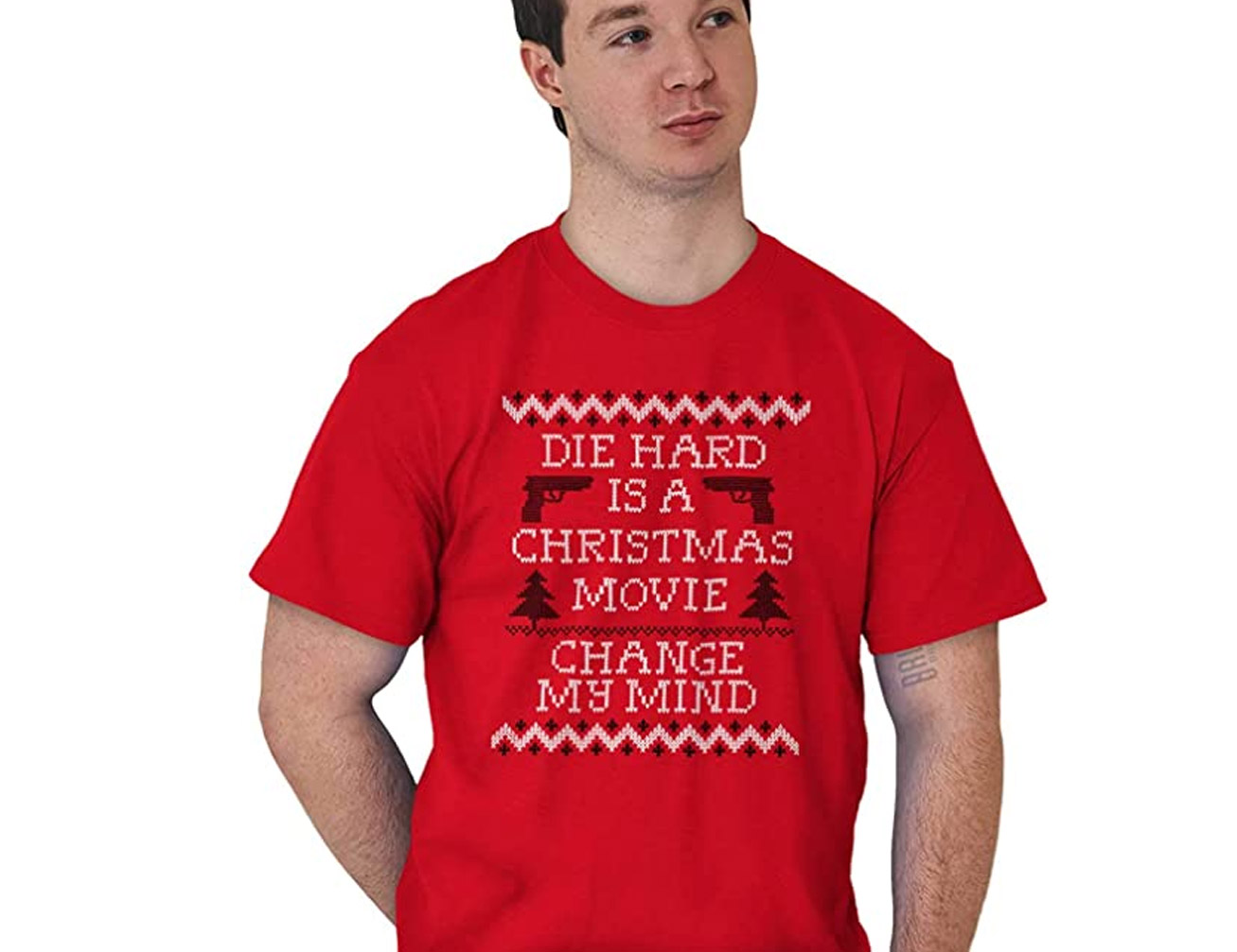 Die Hard Is a Christmas Movie - Change My Mind Shirt