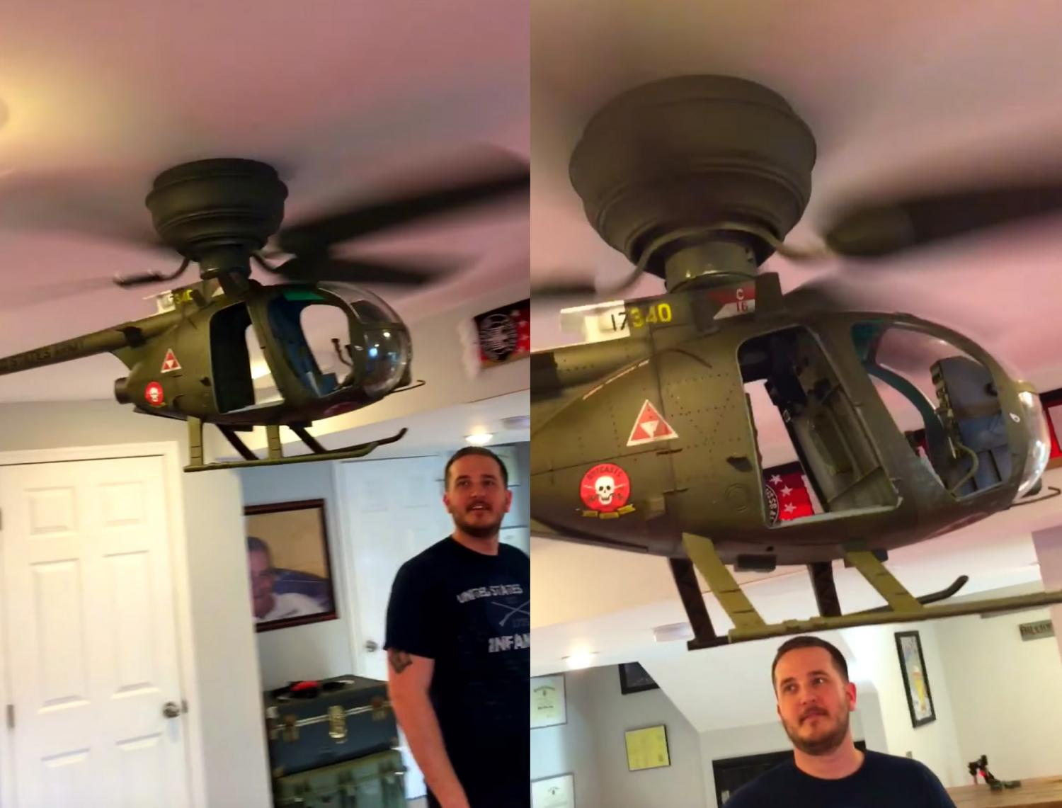 Diy Helicopter Ceiling Fan