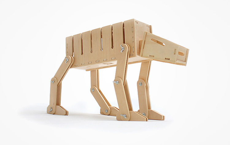 DIY Star Wars AT-AT Cable Organizer and Card Holder
