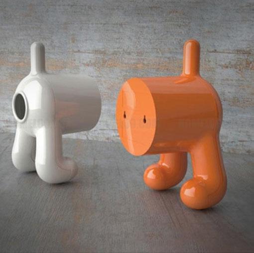 Dog Butt Toilet Paper Dispenser