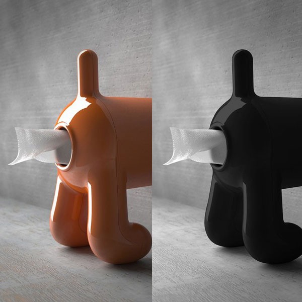 Dog Butt Toilet Paper Holder