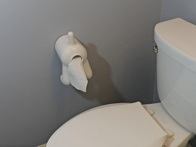 Dog Butt Toilet Paper Dispenser