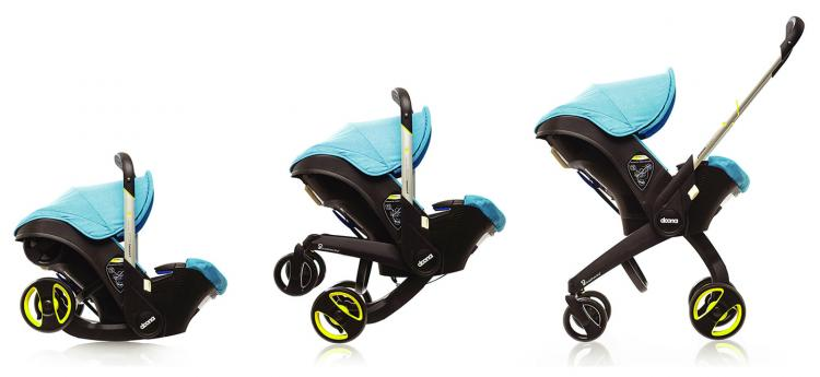 Doona Infant Car Seat Doubles as a Stroller - Car Seat Stroller