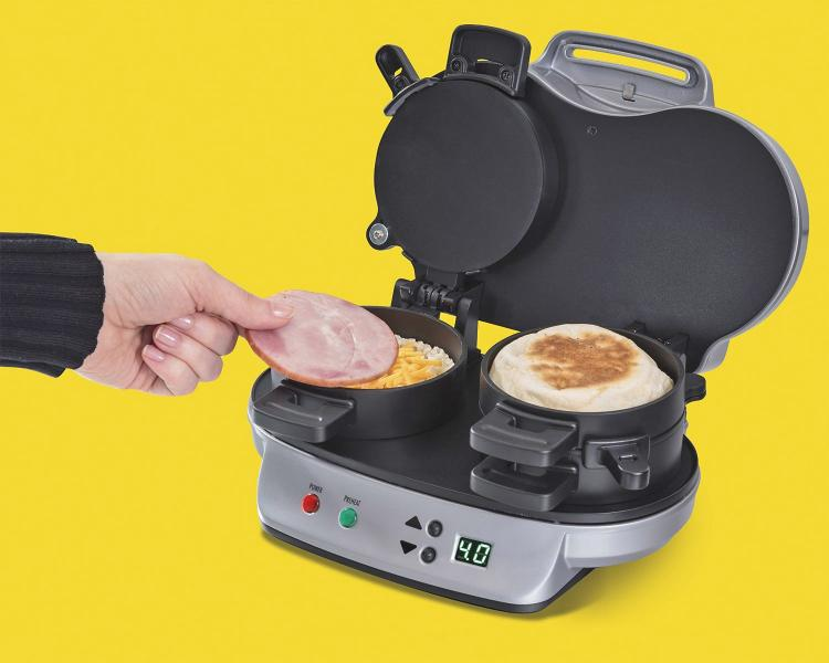Double Breakfast Sandwich Maker